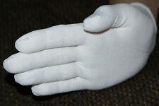 Microfaserhandschuhe weiße Handschuhe 100 % Microfaser Größe - Universell