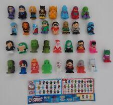 NEW Series 3 DC COMICS OOSHIES ~ 33 LOOSE BULK OOSHIE Rare + Common ~ FREE POST!