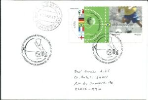 BRAZIL 2002 FOOTBALL SOCCER WORLD CUP CHAMPIONSHIP Winners on Circulated FDC