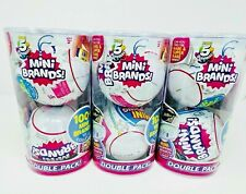 5 Surprise Mini Brands Mystery Capsule Series 1 * 3 Double Packs = 6 Balls NIP