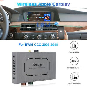 Wireless Carplay Android Auto Car Upgrade For BMW CCC System 2003-2008 8.8 Inch