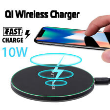 5W/10W 8mm Fast Qi Wireless Charger Holder Pad Dock For Samsung Note  A