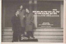 BRENDAN CROKER : 5 O'Clock Shadows -NEWSPAPER ADVERT- 1987