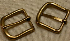 MESSING Gürtelschnalle MASSIV Premium NEU für 3cm GÜRTEL Solid Brass GESTEMPELT#