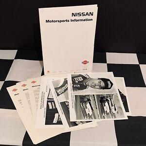 NISSAN MOTORSPORTS 300ZX 1994 LE MANS 24 HOURS TEAM PRESS PACK KIT + 4 PHOTOS