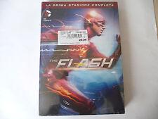 THE FLASH PRIMA STAGIONE COMPLETA-DVD 5 DISCHI-UNIVIDEO 2014-SIGILLATO