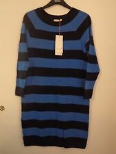 BNWT LADIES M&S PER UNA RANGE LONG SLEEVED WITH WOOL DRESS SIZE 18 R/PRICE £45