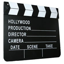 Movie Clapboard Clapper Slateboard Film Director's Slate
