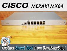 Cisco Meraki MX84 MX84-HW - Cloud Managed Security Appliance - with license