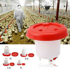 Food Feeder Drinker Set Tool Poultry Chicken Poultry Lid Handle