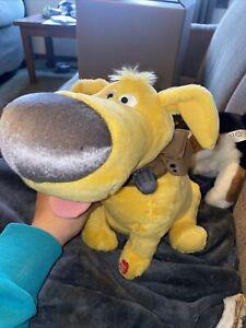 Disney Store Movie UP Dug Doug Dog Pixar Plush Stuffed Animal No Sound