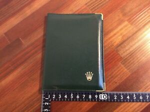 Rolex Passport Wallet Montres SA Geneve code 0068.08.05 + Free Shipping