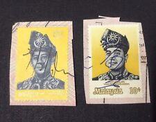 Malaysia Pertabalan Yang Dipertuan Agong 1971 & 1976  10cents x 2pcs  Used