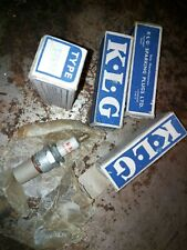 Very rare, New, old stock KLG TFE 50  spark plugs 4 packaged.