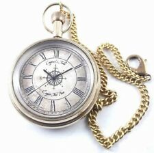 POCKET WATCH NAUTICAL ANTIQUE BRASS ITEM AND GIFTS