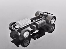 H0 Herpa 777012 Renault Solo Tractor Chassis, Black 1/87 Scale