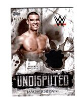 WWE Jason Jordan 2018 Topps Undisputed Authentic Shirt Relic Card SN 82 of 99