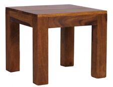 Table basse massivholztisch Amar 45x45cm bois sheesham Style De Maison campagne