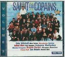 SALUT LES COPAINS VOL3 - ANTOINE NINO FERRER JOE DASSIN MICHEL DELPECH - CD 20T