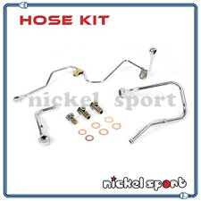 Mitsubishi 4B11T EVO 10 EVO X Turbocharger Oil Water Pipe Line Kit