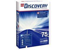 DISCOVERY 1 Scatola 2500 FOGLI 5 RISME A3 Carta Fotocopiatrice Laser Inkjet 75gsm +24H