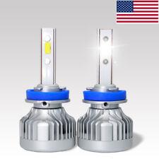 H8 H9 H11 LED headlights conversion kit 90W 9600LM 6000K  High Low beam No glare