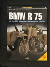 Kagero Book: BMW R 75  And Other BMW Motorcycles in the German Army in 1930–1945