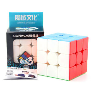 Moyu MeiLong 3x3x3 Speed Magic Cube Puzzle Twist Contest Xmas Gifts Multi-Color