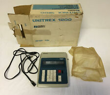 UNITREX 1200 Adding Machine with Cord and Cover ~ In Box