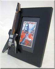 MICK THOMSON Miniature Guitar Frame Slipknot Ibanez Seven