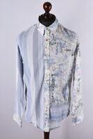 Desigual Multicolored Long Sleeve Shirt Size L
