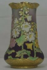 ***Coralene***NIPPON PORCELAIN VASE  JAPANESE US PATENT 912,171 NBR FEB 9 1909