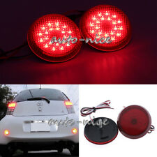 2x LED Tail Brake Lights Fog Lamp Rear Bumper Light For Toyota Corolla 2009-2010