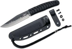 NIB CRKT BURNLEY NISHI 2290 fixed blade edc w/sheath
