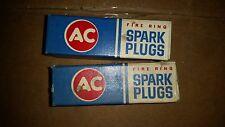 AC Spark Plug 44N nos set of 2 Brand new