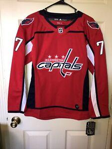Adidas T.J. Oshie Youth Size Medium Washington Capitals Authentic NHL Jersey