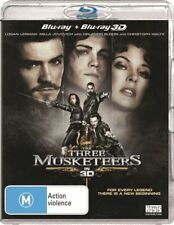 The Three Musketeers 3D : NEW Blu-Ray 3-D