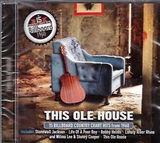 THIS OLE HOUSE 15 Billboard Country Chart Hits From 1960 CD - New / Sealed