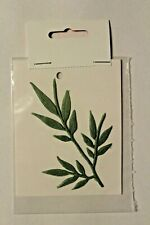 Verzierwachs cirro ramo foglie cera di CANDELA CERA DECORATIVA bordato Cera Candela Cera