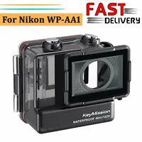 40M Wasserdicht Schutzhülle Gehäuse Case für Nikon WP-AA1 KEYMISSION 170 Kamera