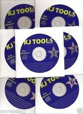 12 Karaoke CDG Set KJ TOOLS 243 Karaoke Songs Pop ROCK Country Oldies 2018 SALE