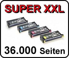 4x tóner cartucho para Dell 3130 3130cn - High CAPACIDAD