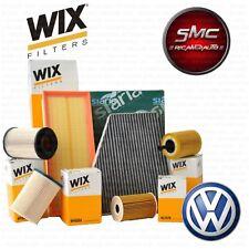 Kit tagliando 4 FILTRI WIX VW GOLF 6 VI 1.6 TDI 77 KW