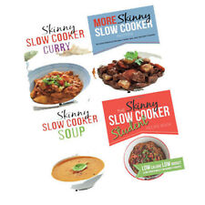 Skinny Slow Cooker Recipes 4 Books Collection Set Paperback Brand New Pack