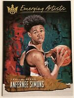 2018-19 Court Kings Emerging Artists # 9 Anfernee Simons RC Rookie
