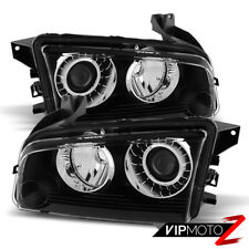 2008-2009-2010 Dodge Charger [FACTORY HID MODEL] D1S Black Headlights Assembly