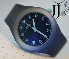 NEW  MARC by MARC JACOBS Ladies X-Up Blue and Black Silicone 38MM Watch MBM5541