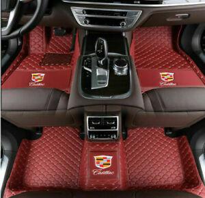 for Cadillac ATS CTS CT6 SRX XT5 XT4 XTS 2004-2019 Waterproof Car Floor Mats Pad