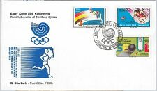 56500 - OLYMPIC GAMES - TURKISH CYPRUS - FDC  COVER 1988: SEOUL