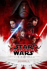 POSTER STAR WARS EPISODE VIII 8 THE LAST JEDI GLI ULTIMI JEDI MARK HAMILL REY 10